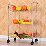 Kitchen Organizer Three Layers Storage Rack