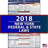 2018 New York Employment Labor Law Poster - State & Federal Compliant - OSHA Compliant