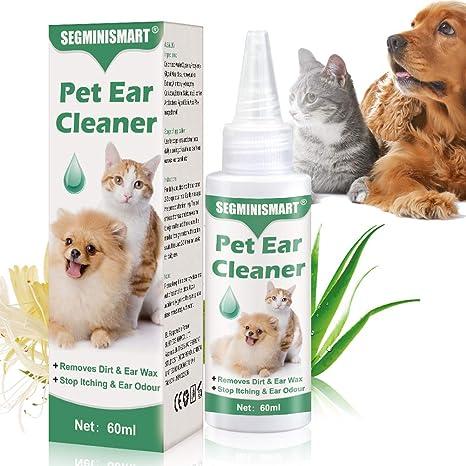 SEGMINISMART Limpiador de Oidos para Perros, Limpiador de Oídos ...