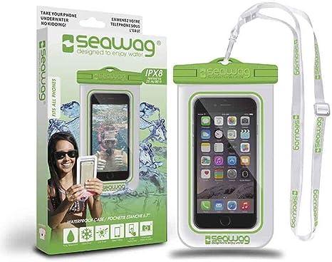 Bolsa resistente al agua 25 M Seawag para Smartphone, color au choix – blanco verde: Amazon.es: Deportes y aire libre