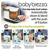 Baby Brezza Small Baby Food Maker Set – Cooker