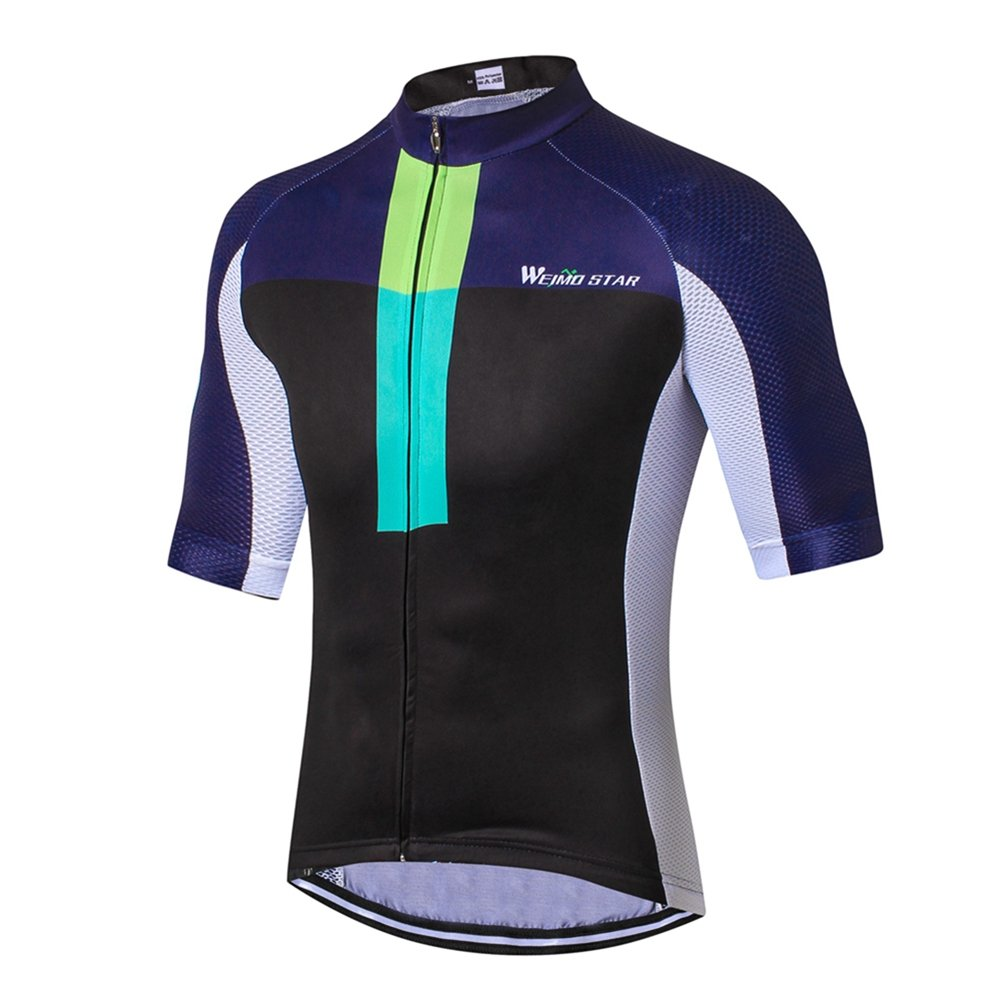 Amazon.com   Weimostar Men s Cycling Jersey Biking Shirts with Pockets  Breathable   Sports   Outdoors 8747da4a9