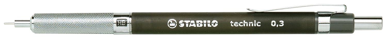Stabilo Technic –  Portamine ricaricabile rosso F3039