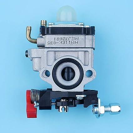 AiCheaX - Juego de carburador Carby para Kawasaki TH23 TH26 ...