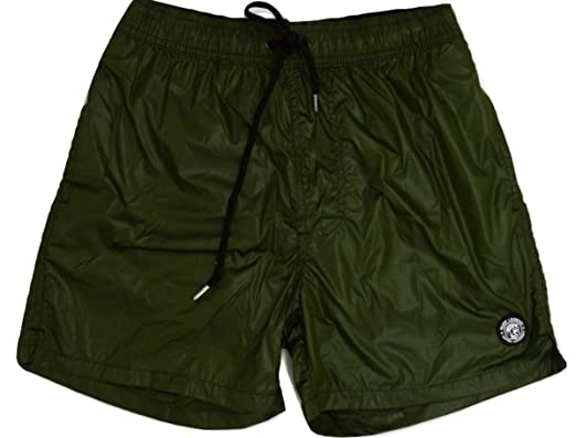 85256a544 DATCH Men's Swimming Shorts Green Army Green: Amazon.co.uk: Clothing