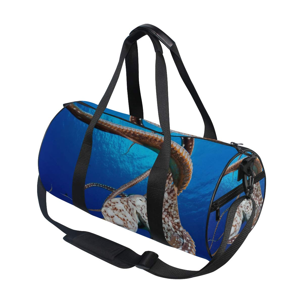 Gym Bag Dolphin Women Canvas Duffel Bag Cute Sports Bag for Girls