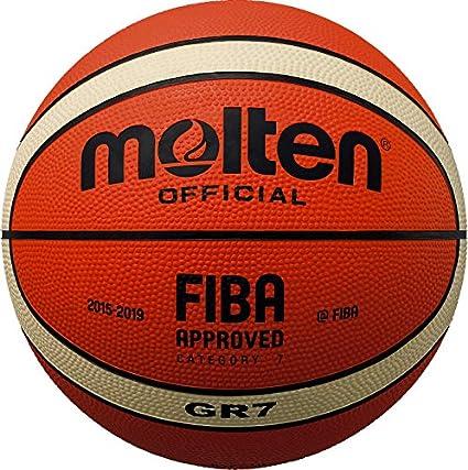 Molten - Pelota de baloncesto (disponible en 3 tamaños) tamaño 5 ...