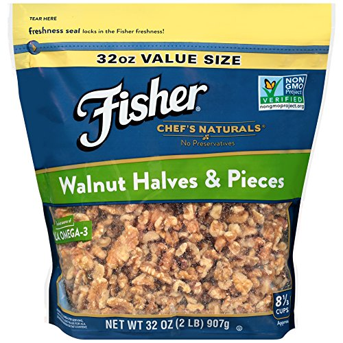 FISHER Naturals Walnut Halves Pieces product image