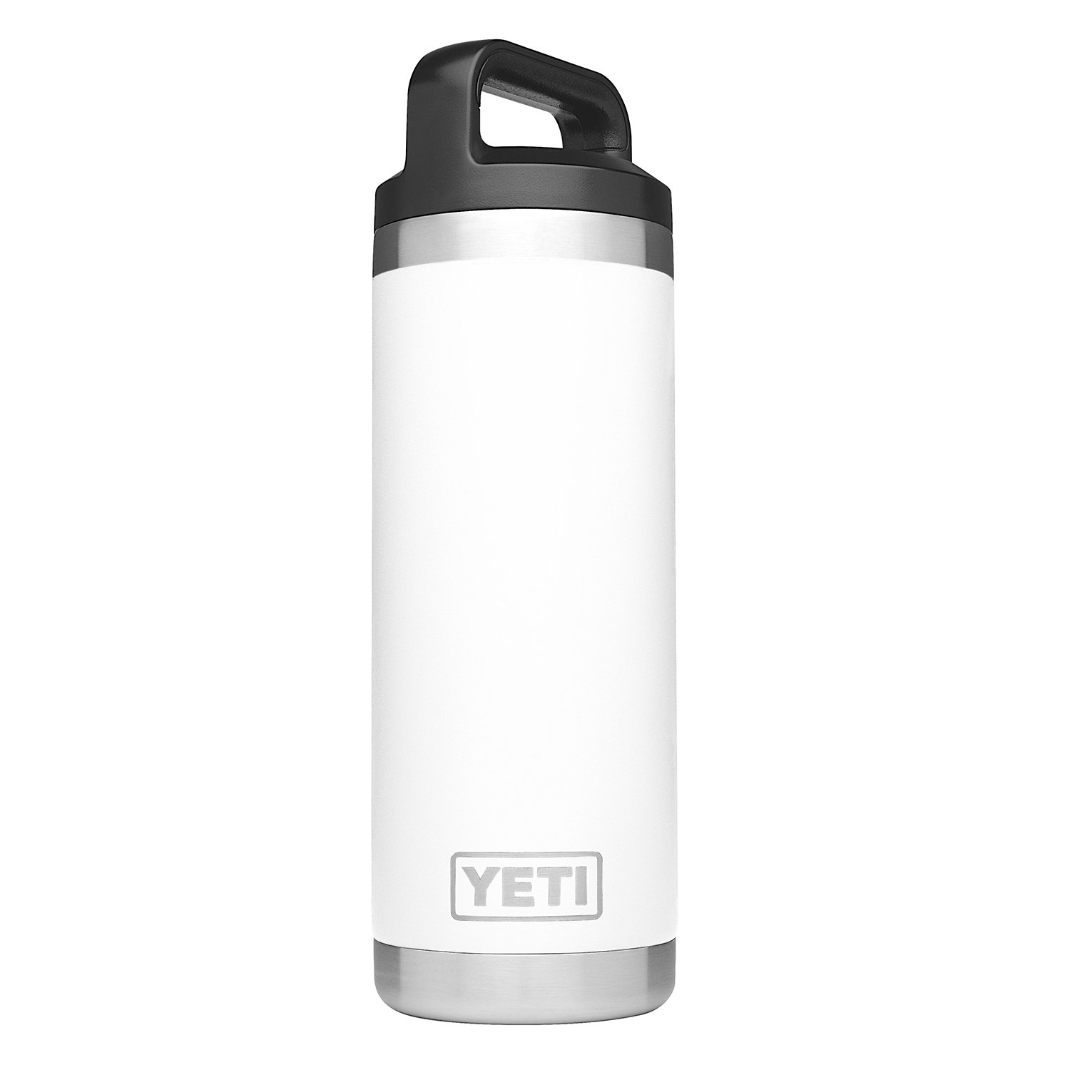 YETI Rambler 18oz Bottle, White