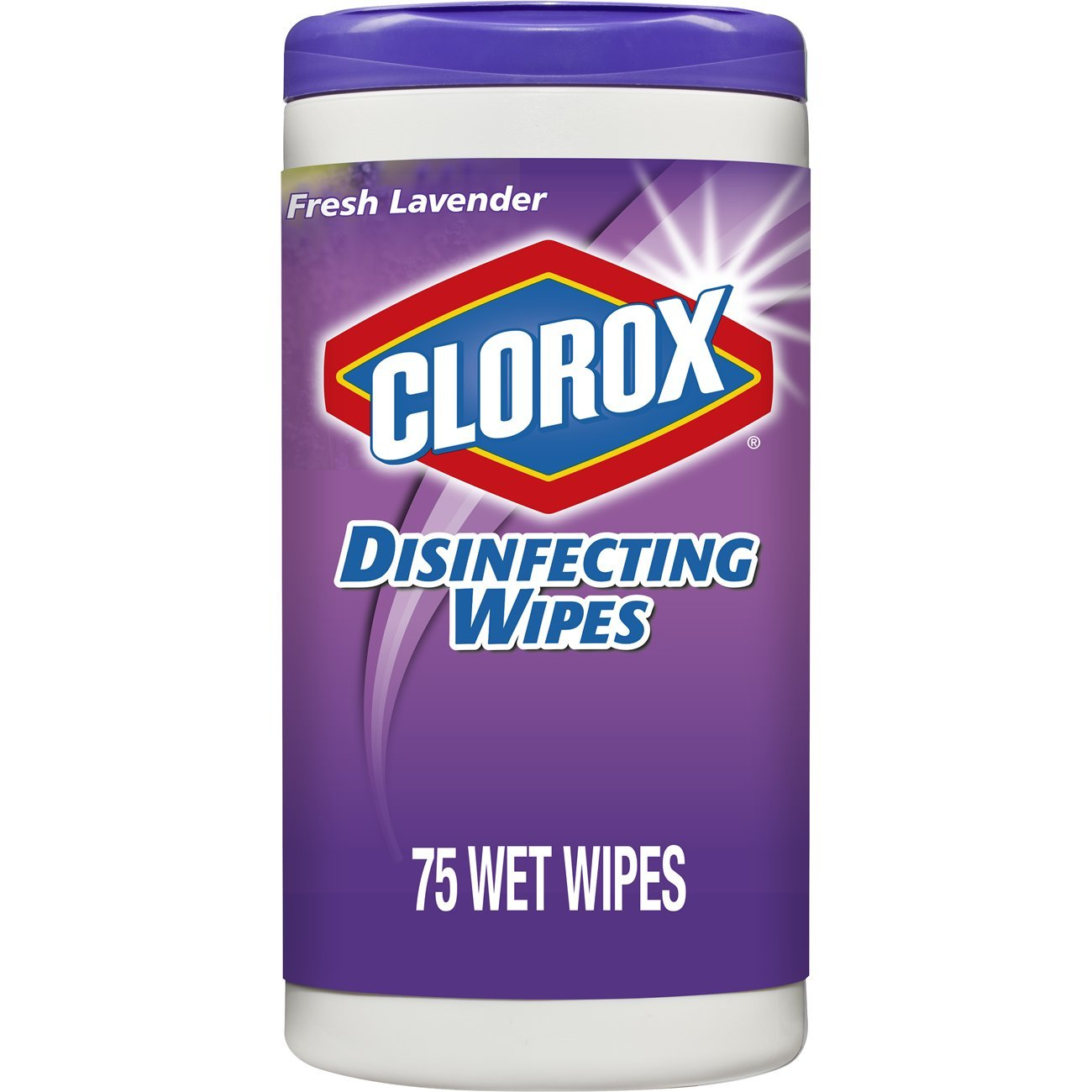 Clorox Disinfecting Wipes, Bleach Free Cleaning Wipes - Fresh Lavender, 75 Count (Pack of 6) by Clorox (Image #10)