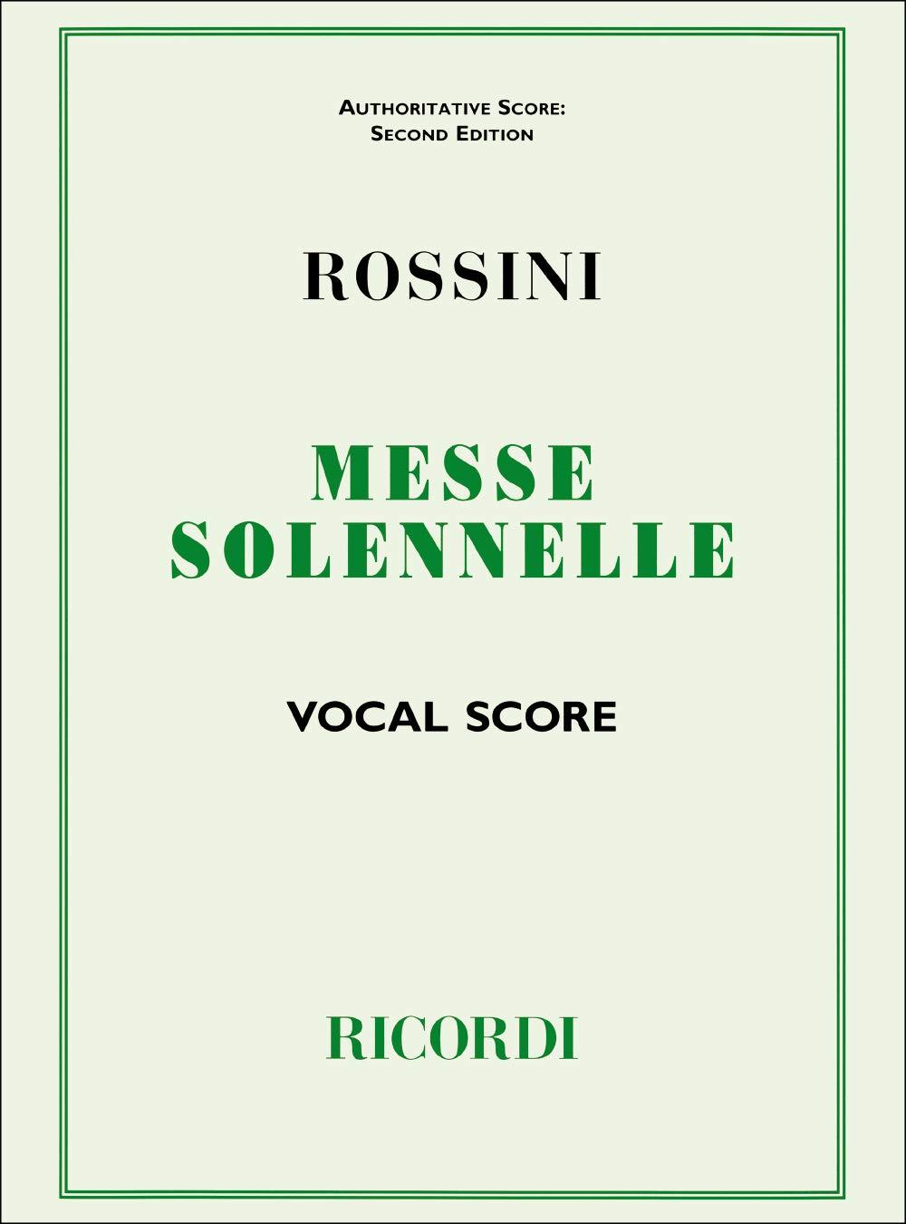 Petite Messe Solennelle. Klavierauszug