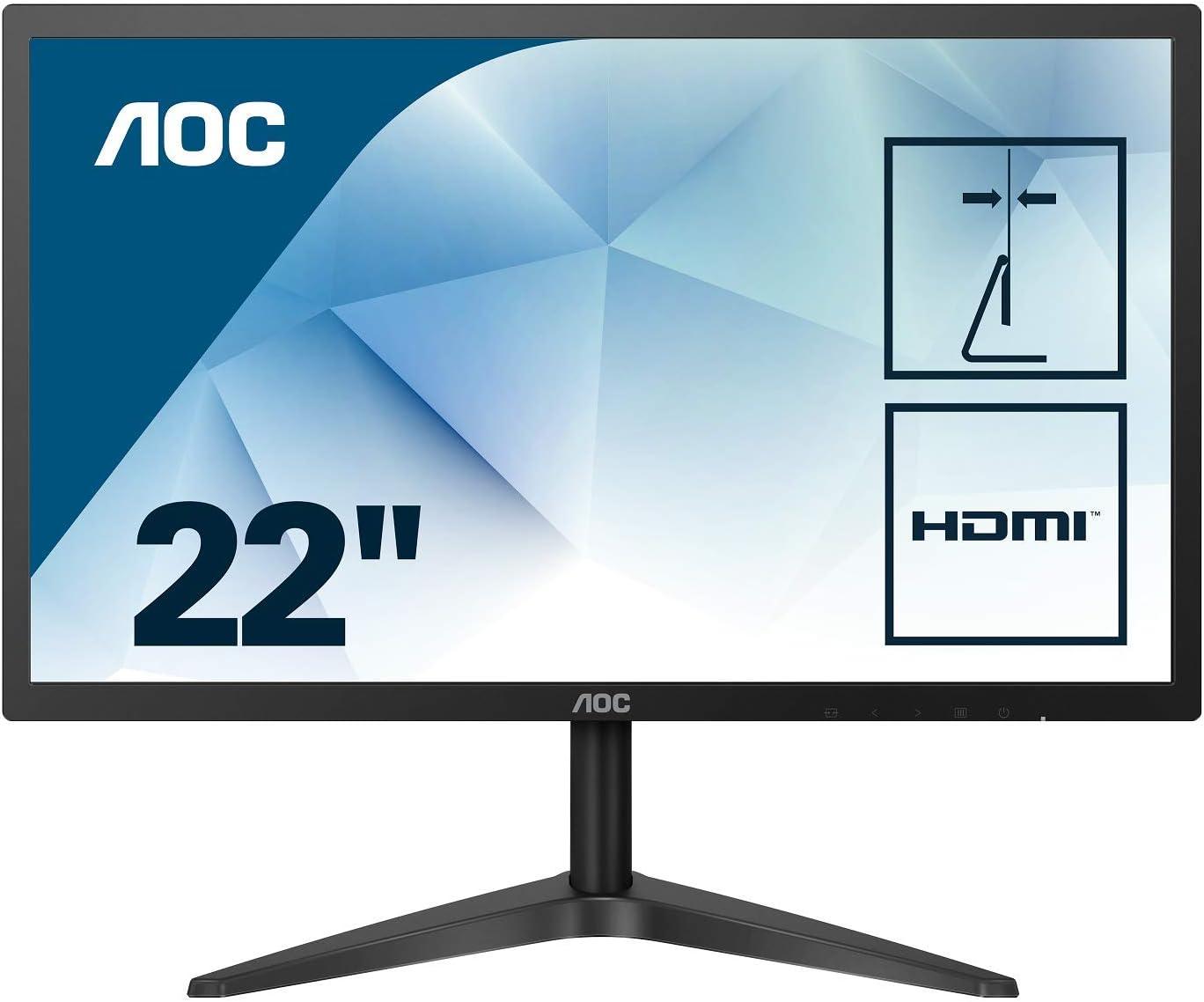 Monitor AOC 22B1HS de 21,5″ por 99,98€