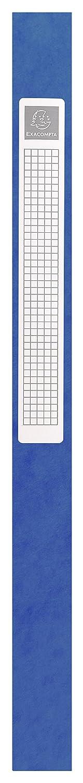 Dos 60mm Carte lustr/ée 600g//m/² R/éf Exacompta Boite de classement /à /élastiques Exabox 50605E Format 25x33cm pour documents A4 Rouge