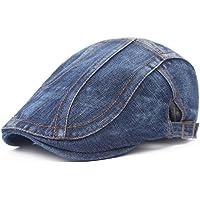 Leisial Sombrero de Boina Vaquera Gorra con Visera