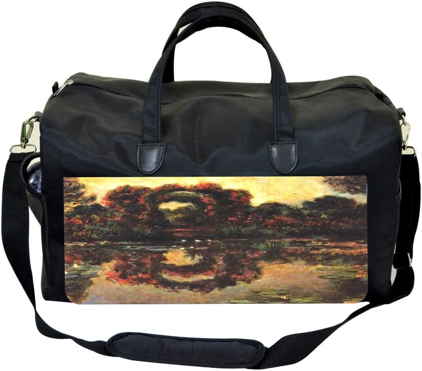 Artist Claude Monets Flowering Arches in Giverny Painting Print Design Weekender Bag