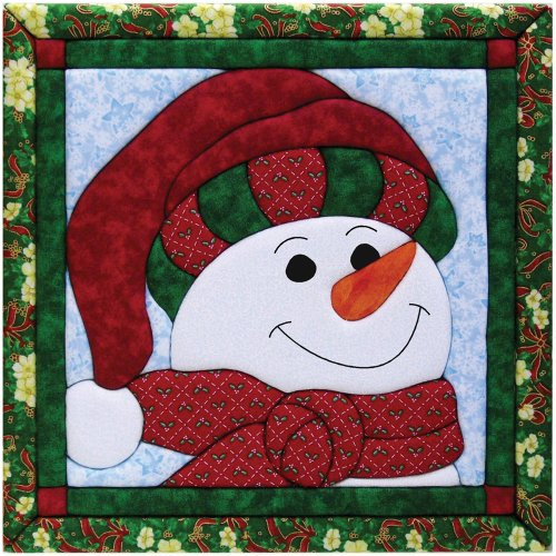 Quilt Magic 12-Inch by 12-Inch Snowman Kit