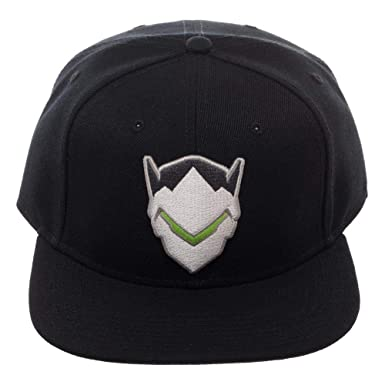 Bioworld Overwatch Genji Snapback Hat  Amazon.co.uk  Clothing 6e54c4124455