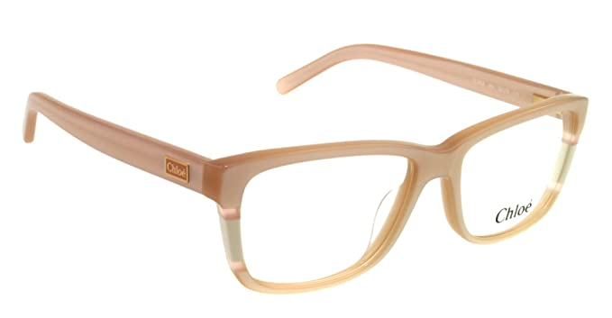 6a0da3ac343a Amazon.com  Chloe Eyeglasses CE 2608 PINK 264 CE2608  Chloe  Clothing