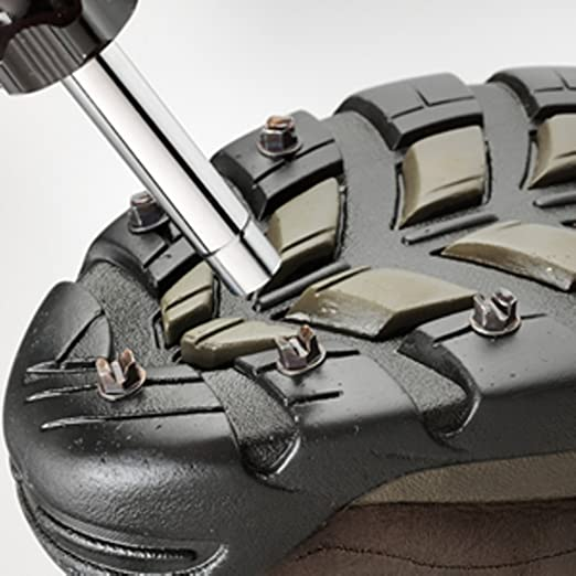 ICESPIKETM Serious Traction for Any Outdoor Activity No Straps Chains or Coils.