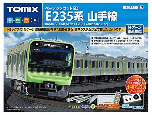 [해외] TOMIX N게이지 베이직 세트SD E235 계야마노테선 90175 철도 모형 입문 세트