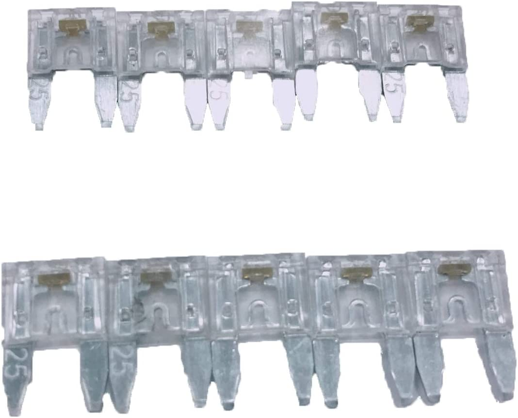 PHOTO-TOP Mini//ASP 5A-30A Auto Fuse with LED for Truck Boat SUV Motorcycle 10 pcs Automotive Replacement