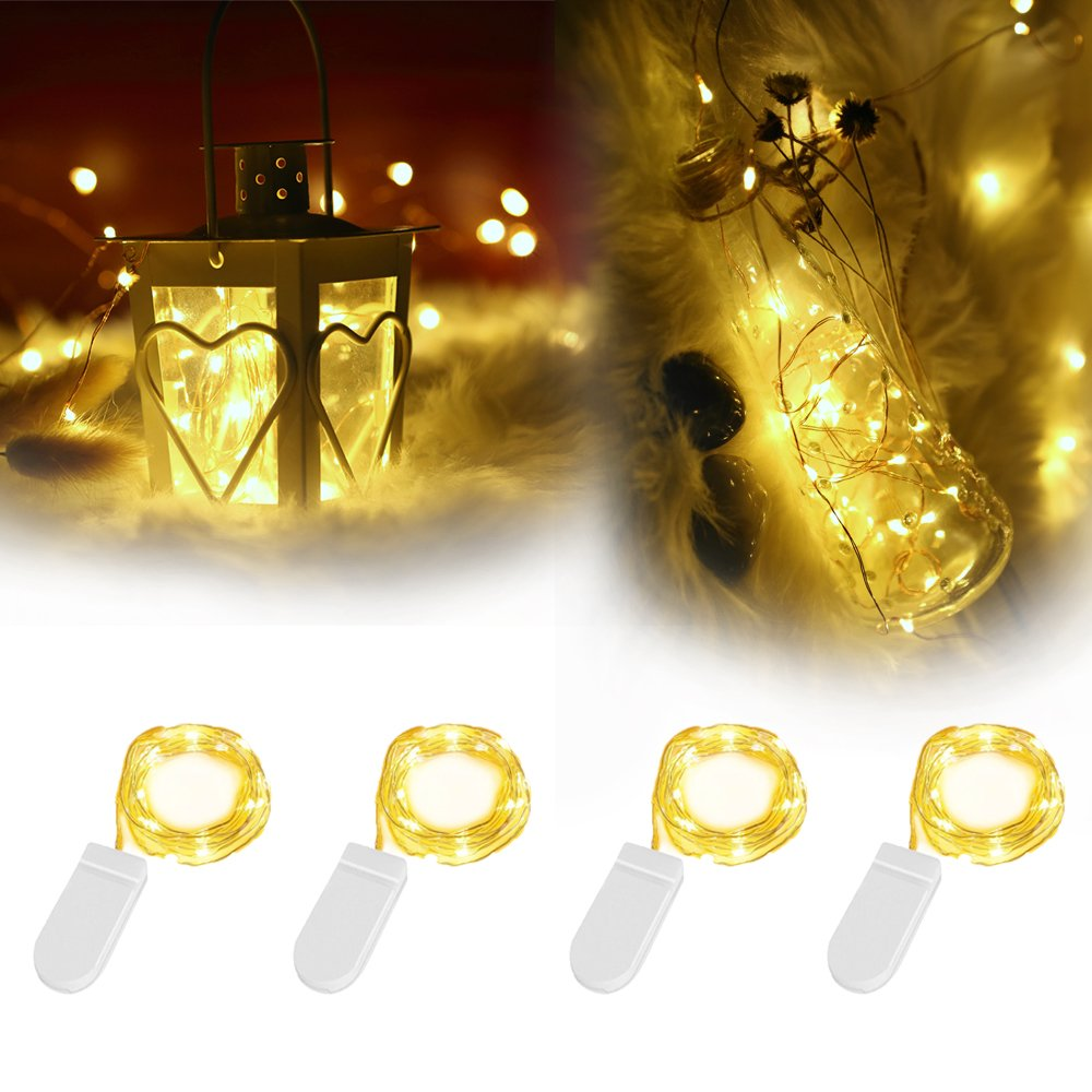 Weihnachtsbeleuchtung Led Batterie.4 Pack Led Lichterkette Mit Batterie Innoolight 2m 20er