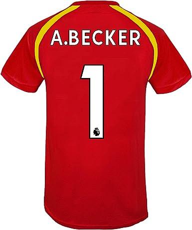 Liverpool FC - Camiseta Oficial de Entrenamiento - para Hombre ...