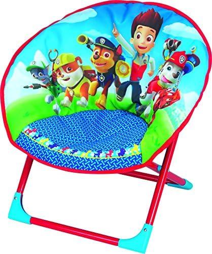 Fun House 712501Pat Patrol Children's Moon Folding Chair Blue 54x 45x 47cm