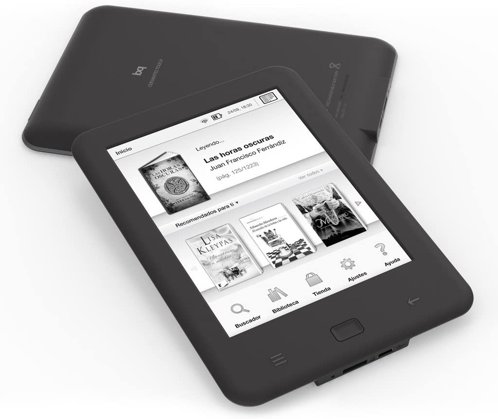 bq Cervantes Touch - Tablet (pantalla de 6 pulgadas, 4 GB de RAM ...