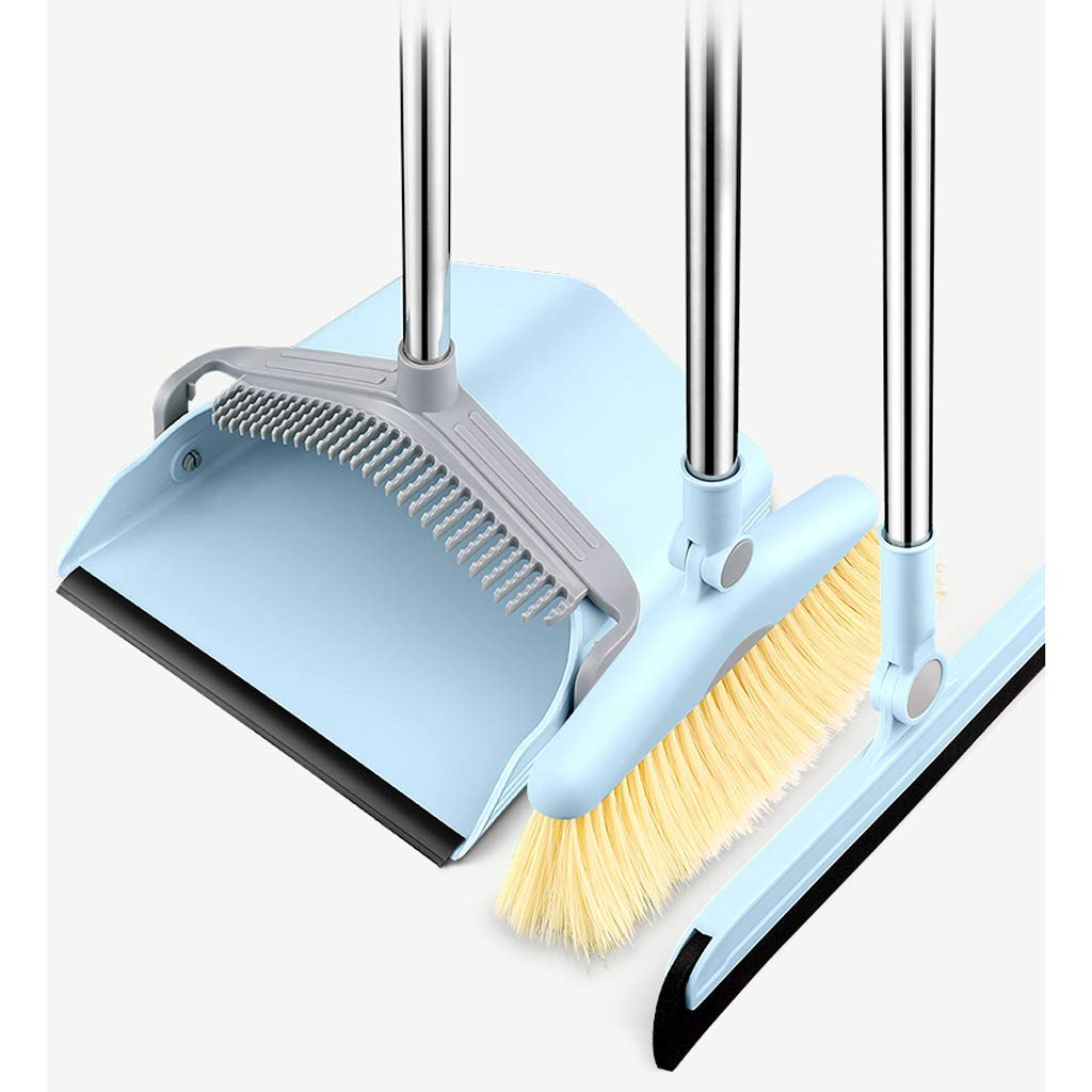 Ffrzd Long Handled Dustpan And Brush Dustpan & Brush SetsIndoor Broom And Dustpan (Size : Model 2) by Ffrzd