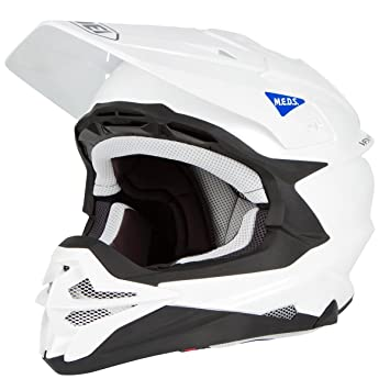 Shoei Casco vfx-wr, color blanco, blanco, blanco