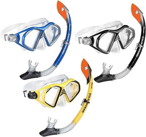 Aqua Lung Aqualung Admiral Hydro Dry Set - Pack de Snorkel, Color ...