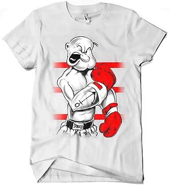 Camisetas La Colmena, 213-Camiseta Popeye Ali: Amazon.es: Ropa y accesorios