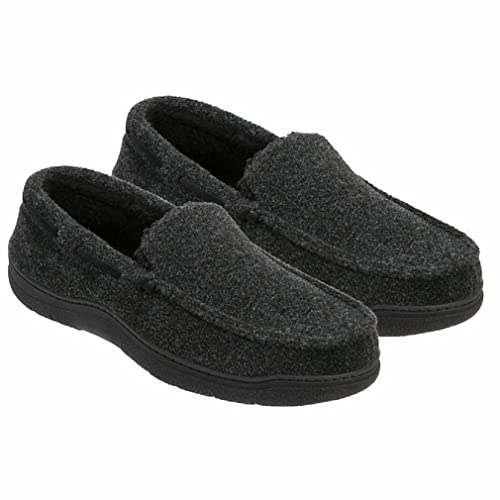 4c1d9e7f90bed7 Dearfoams Men s Memory Foam Slippers Moccasin Shoes