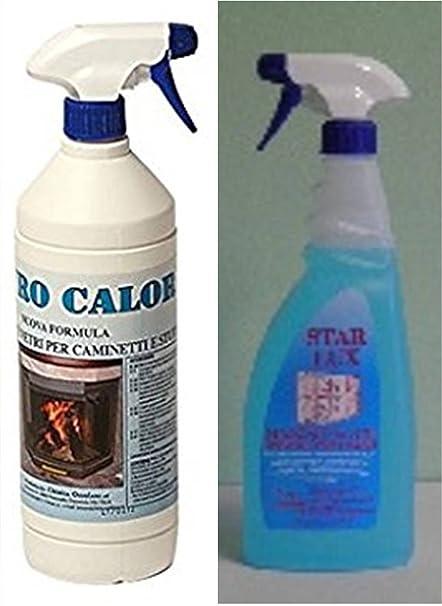 Limpiador Lunas para la limpieza de chimeneas y estufas Cristal calor + Star Lux – Detergente