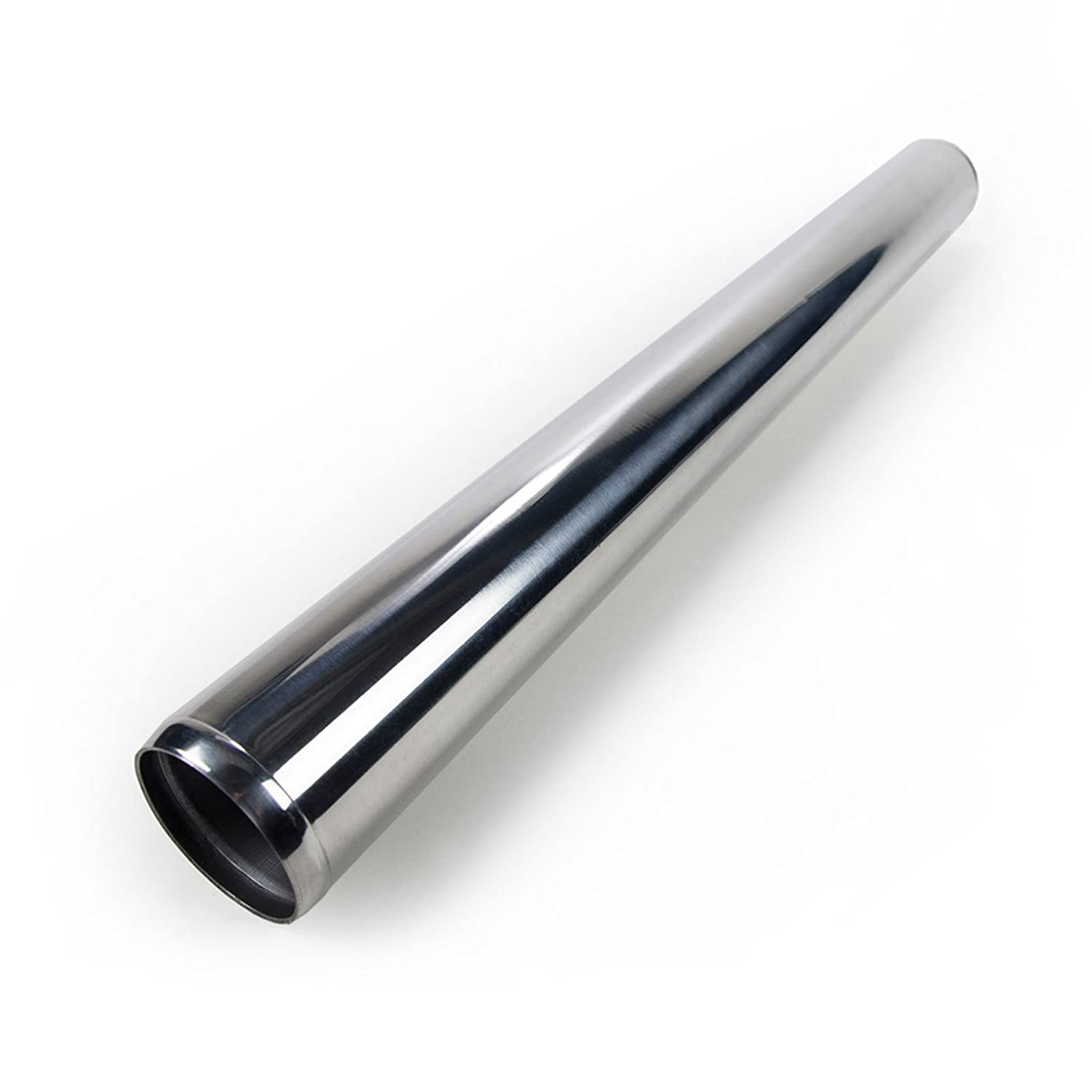 2.5' Straight Aluminum Pipe Tube 2 Feet Length Turbo Tubing Intercooler Piping Squirrelly Performance Parts