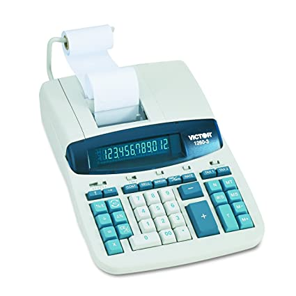 Victor 1230-4 Desktop And Business Digital Printing Calculator 12 Digit Office Equipment