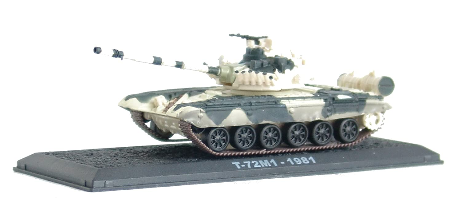 T-72 - 1981 diecast 1:72 model (Amercom CS-20) by Unknown