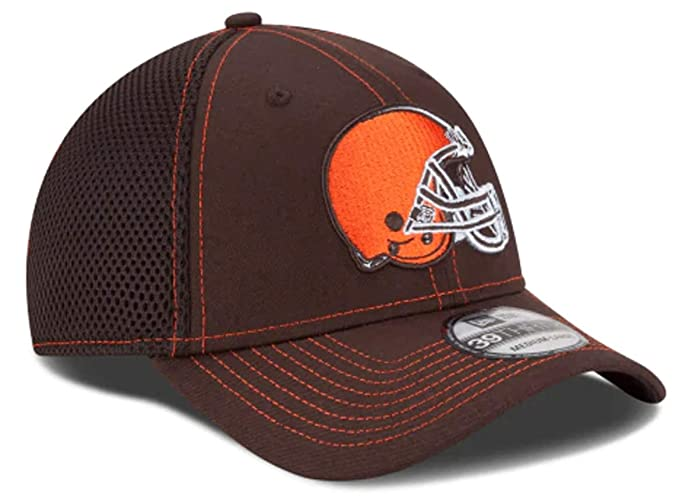 the latest 69d9f d6b05 Authentic Cleveland Browns Neo 39THIRTY Flex Hat Cap (Small Medium)