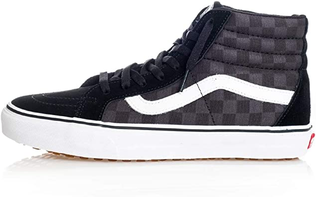 Gute Qualität Vans Sk8 Hi Reissue Schuhe Frauen (Checkboard