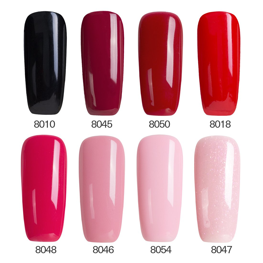 Amazon.com : Modelones Top Coat And Base Coat For Gel Nail