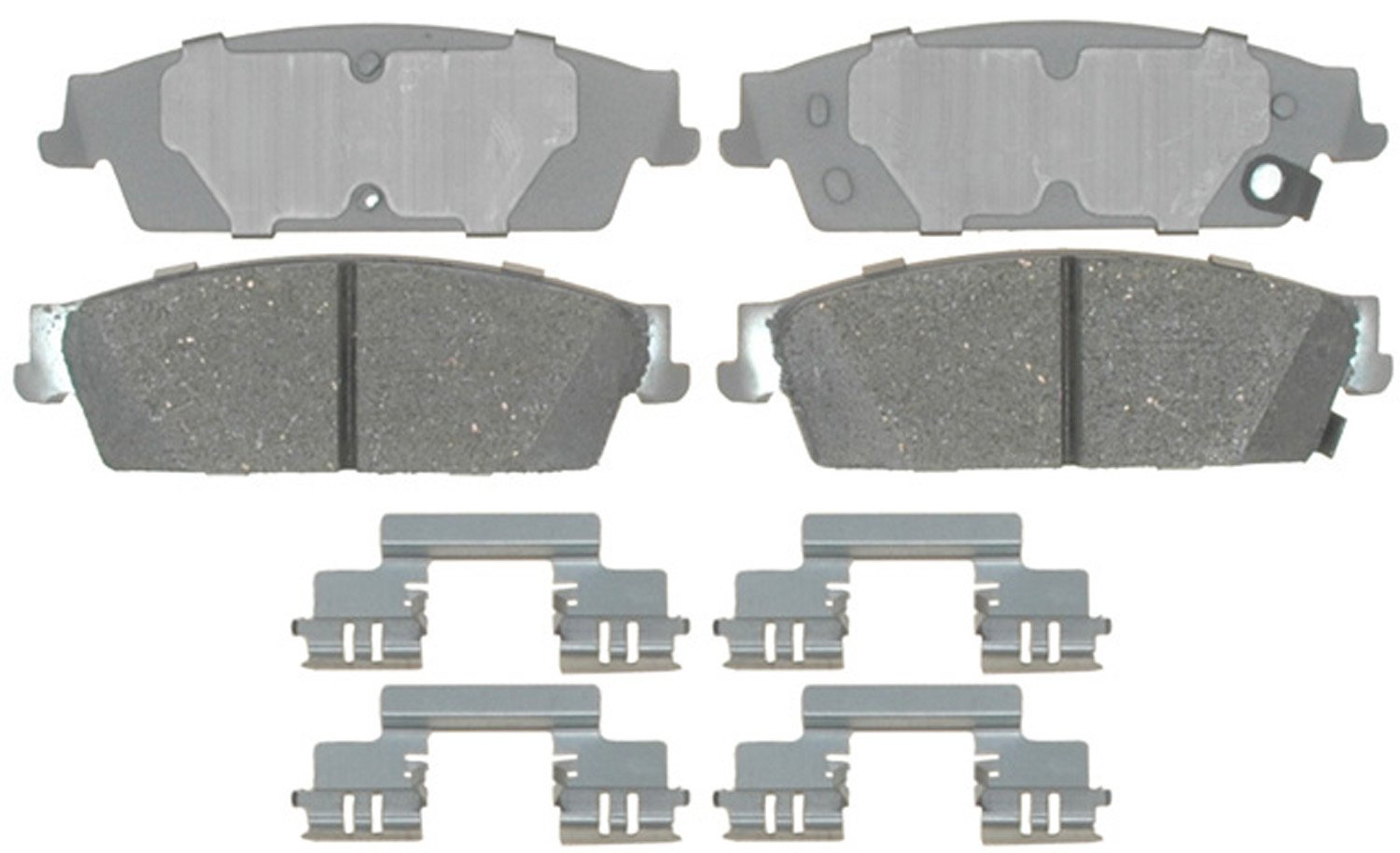 ACDelco 14D1194CH Advantage Ceramic Rear Disc Brake Pad Set with Hardware by ACDelco