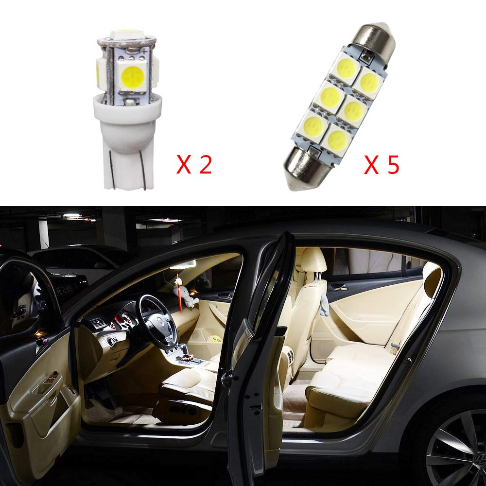 For Carens Super Bright LED Interior Lights Source Car Lamp Replacement Bulbs White Pack of 4