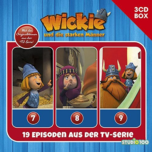 Wickie (CGI) / Wickie (CGI) - 3CD Hörspielbox Vol. 3 (Studio 100)