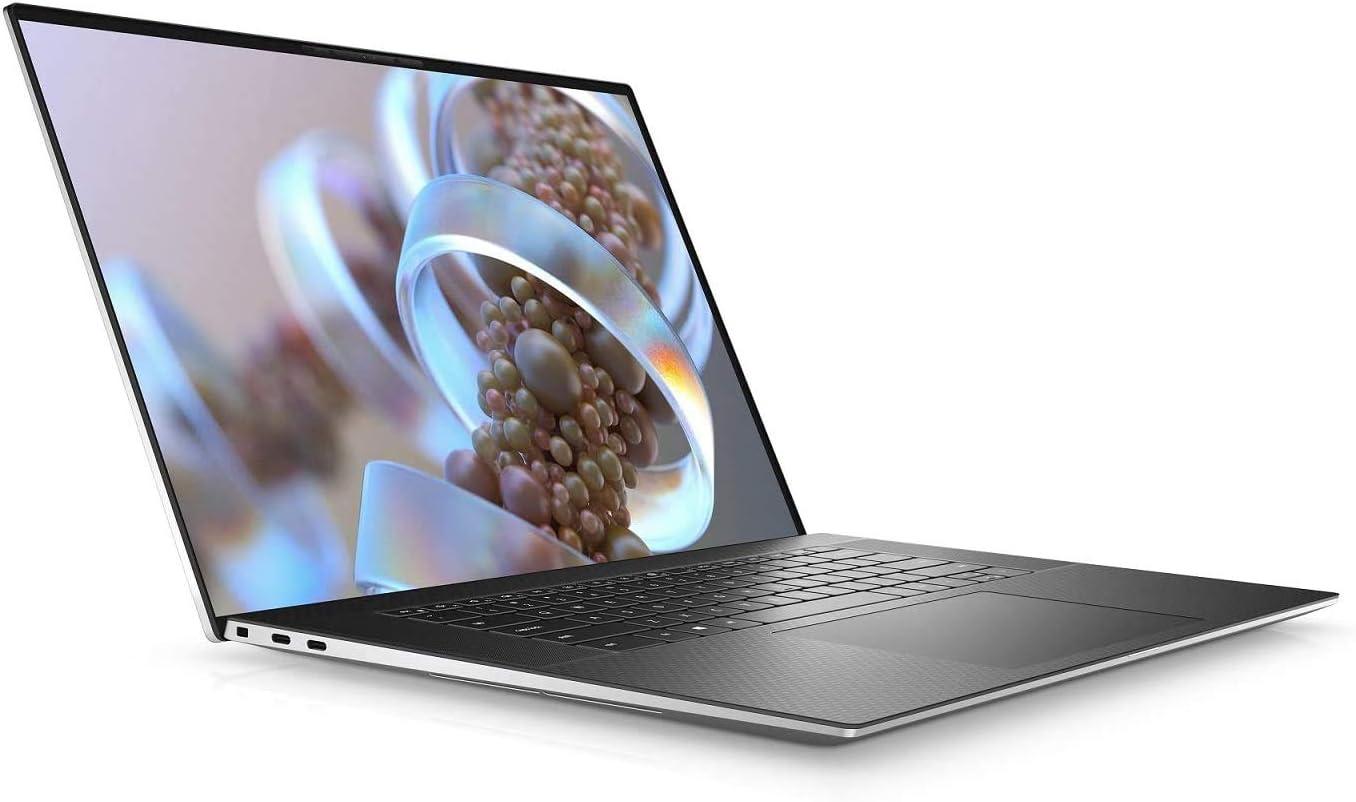 "New XPS 15 9500 15.6"" Touch Laptop 10th Gen Core i9-10885H 5.3 GHz 8 cores GTX 1650 Ti 4K UHD+ Anti-Reflective 500-Nit Display Plus Best Notebook Stylus Pen (10Th Gen i9|1TB SSD RAID|64GB RAM|Silver)"