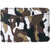 Ultramall Fashion Unisex PU Neutral Camouflage Short Wallet Coin Purse Card Holders Handbag Clutch