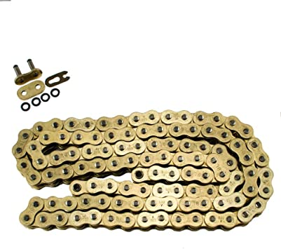 Max Motosports 530 Pitch 106 Links Gold O-Ring Chain for Kawasaki KZ750 1976 1977 1978 1979
