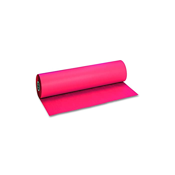 Riverside Paper Decorol Flame Retardant Colored Paper Rolls, 36in. x 1000ft., Festive Red