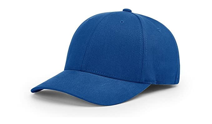 4c2ecab1530 Richardson 285 BRUSHED CHINO R-FLEX BLANK BASEBALL CAP FIT HAT at Amazon  Men s Clothing store