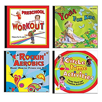 Amazon.com: Beckers School Supplies Keep It Moving CD Set ...